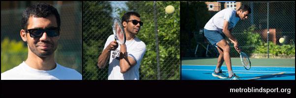 Novice VI tennis player to Number 4 in 2 Years! Naqi Rizvi