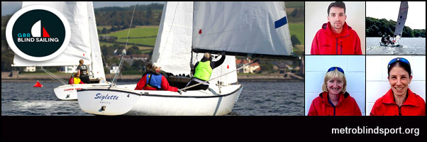 Day 3 of the Blind Sailing Championships