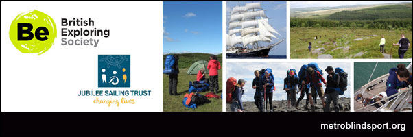 Infinity Project with British Exploring Society & Jubilee Sailing Trust