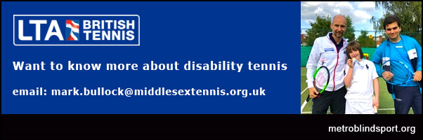 Middlesex Tennis Disability Tennis Festival