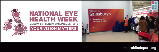 National Eye Health Week at Sainsburys 27 Sept
