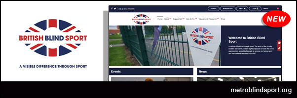 New and Improved British Blind Sport's Website