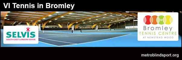 Bromley Blind Tennis Sessions