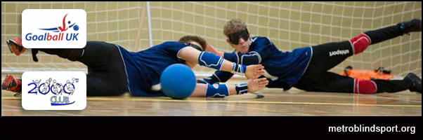 Come and give Goalball a go in Hounslow 11 Nov!
