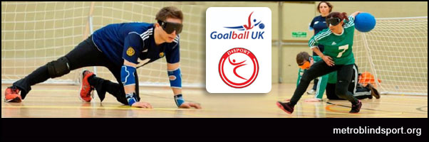 Goalball have a go session in Essex -10 Nov!
