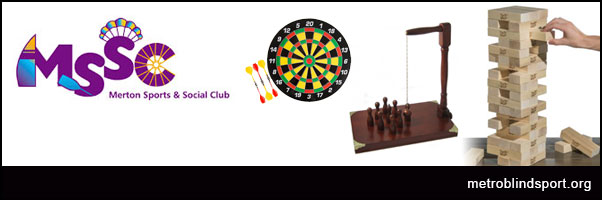 MSSC Social - Bar Games Evening Tuesday 23rd Oct!
