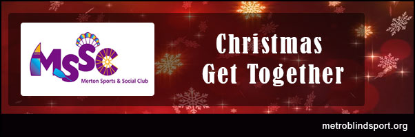 MSSC Social Christmas Get together on the 11 Dec!