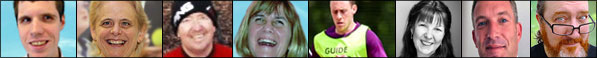 contact page  Metro Blind Sport Trustees and Staff photo montage banner