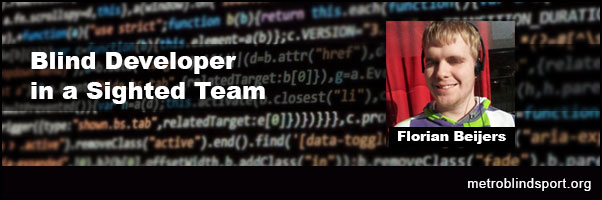 Blind Developer in a Sighted Team