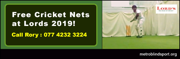 Free Cricket Nets: Oval and Lords - starts 12 Jan - Book Now!
