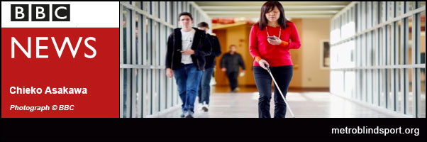 The blind woman developing tech for the good of others