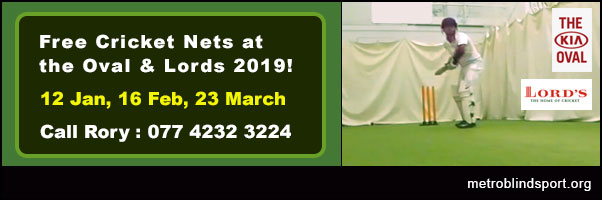 Free Cricket Nets at Lords 2019!