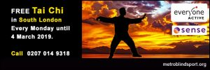 Free Tai Chi classes in South London