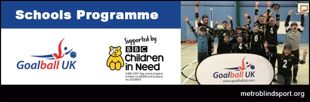 Goalball UK Schools Programme