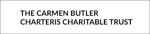 The Carmen Butler – Charteris Charitable Trust Banner
