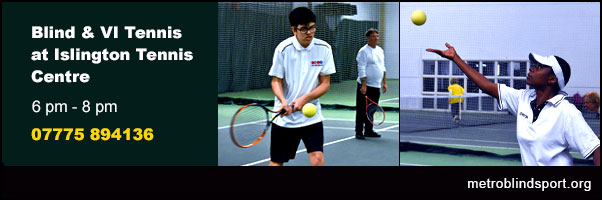 Learn to Play Blind and VI Tennis at the ITC