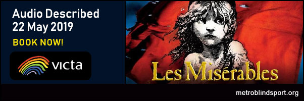 Les Miserables Audio described with VICTA