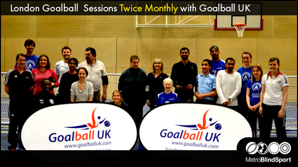 London Elephants Goalball Sessions Twice Monthly with Goalball UK