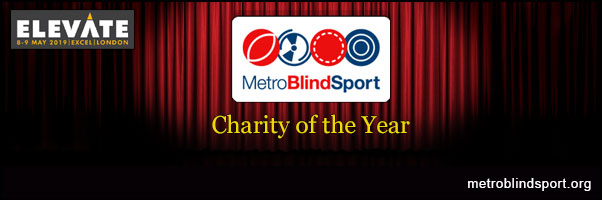 Metro Blind Sport is Elevate's Charity of the Year