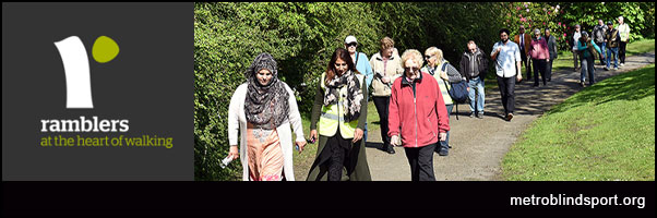 Ramblers Walking for Health gets Lottery Funding