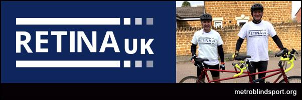 Retina UK Tandem Cycling Challenge