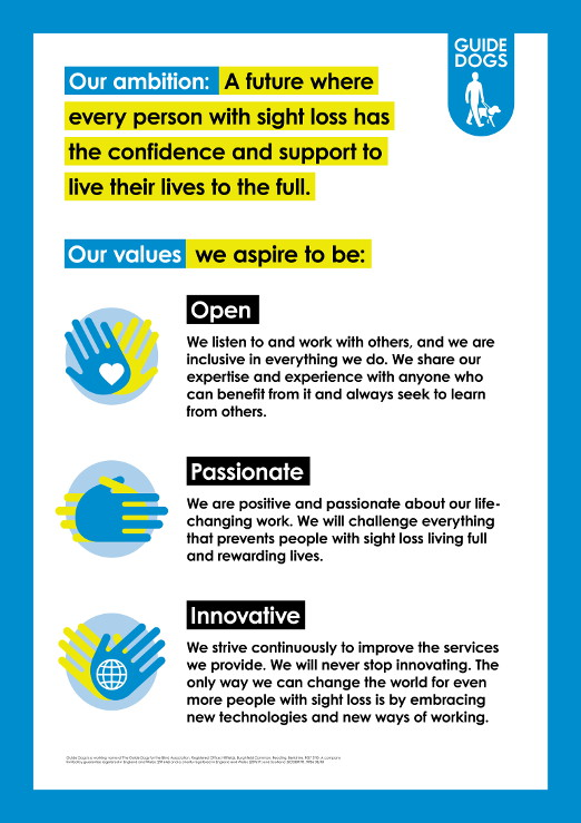 Our Ambition Strategy poster
