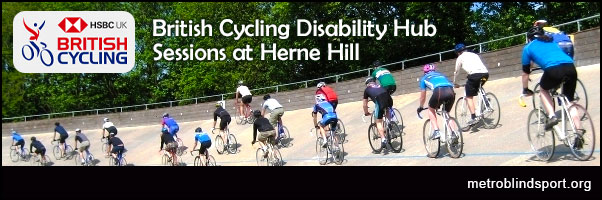 British Cycling Disability Hub Sessions at Herne Hill