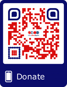 Scan to get the link to our Just giving page