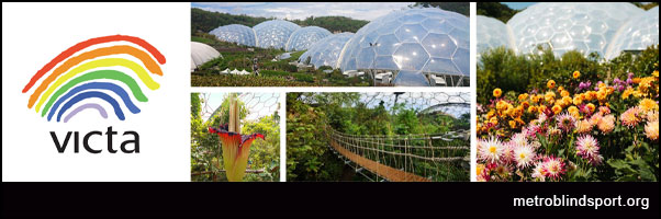 Family Entry to Eden Project Cornwall with VICTA