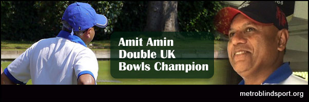 Amit Amin Double UK Bowls Champion