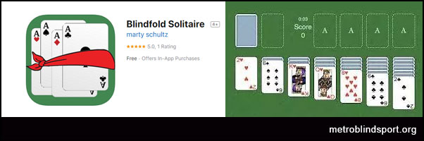 Blindfold Games: Blindfold Solitaire