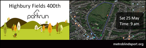 Highbury Fields 400th Parkrun