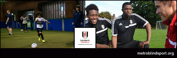 Pan Disability Soccer 29 May Fulham FC Foundation