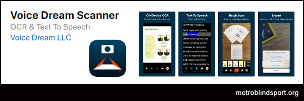 Voice Dream Scanner - Great paper text document Reader
