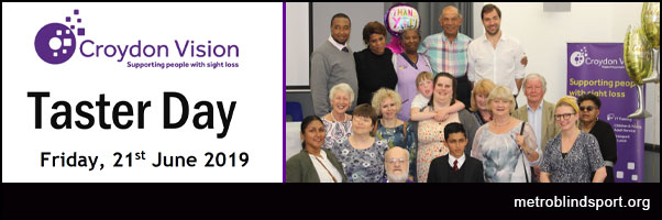 Croydon Vision Taster Day 21 June