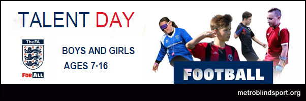 FA England Talent Day 30 June!