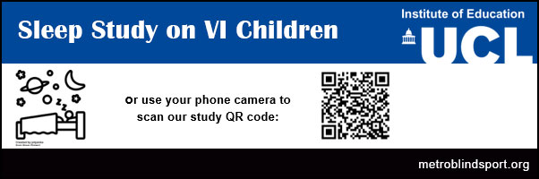 Sleep Study on VI Children with UCL