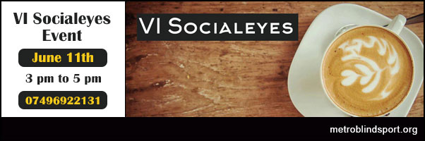 VI Socialeyes 11 June Thega Cafe London WC1H 8BS