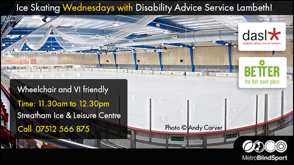 Ice Skating Wednesdays with Disability Advice Service Lambeth!