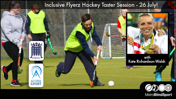 Inclusive Flyerz Hockey Taster Session - 26 July!
