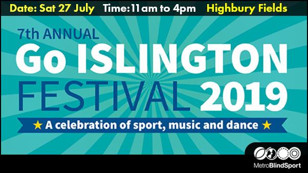 Free 7th Annual Go Islington Festival 27 July