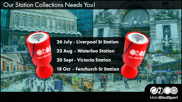 Our Station collections need You! Call 0208 985 6245