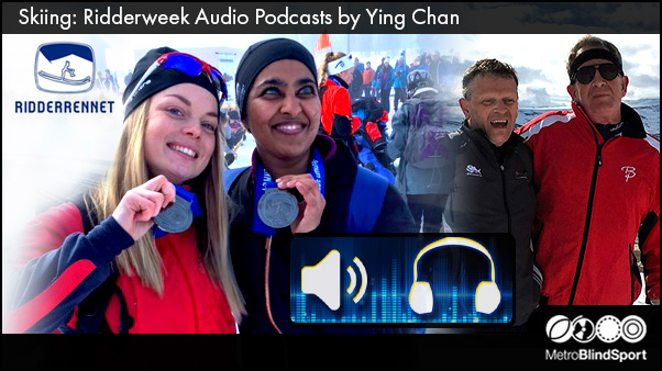 Skiing Ridderweek Audio Podcasts by Ying Chan