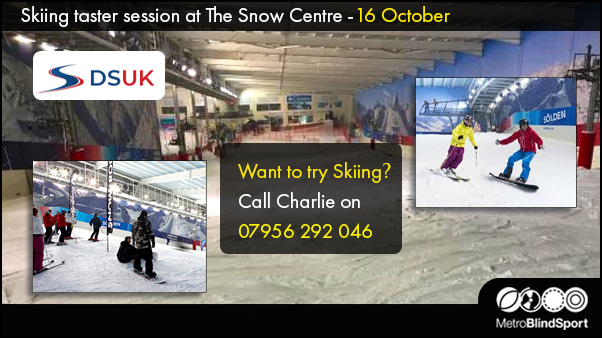 Skiing taster at The Snow-Centre 16 October