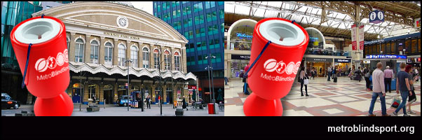 Station Collections at Victoria and Fenchurch St Stations