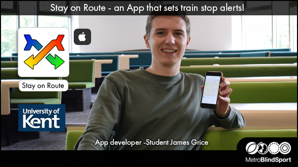 Stay on Route - an App that sets train stop alerts!