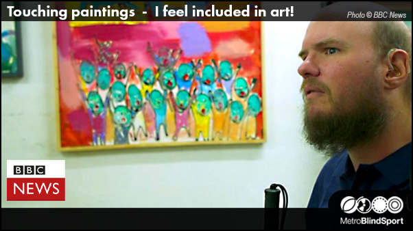 Tony Giles Touching paintings I feel included in art