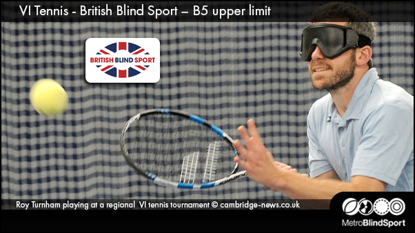 VI Tennis - British Blind Sport – B5 upper limit