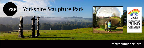 Yorkshire Sculpture Park with VICTA book by 12 July