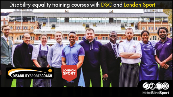 Disability equality training courses with DSC